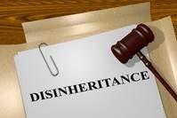 disinherit